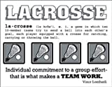 SRM Stickers Say It with Stickers Mini Lacrosse Scrapbooking