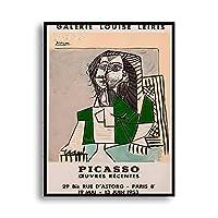Picassoピカソポスターフォービズム壁アートパネル展示会ライン絵画インテリア版画抽象ボディポスター複数サイズギャラリー帆布絵画インテリア屋内家装飾写真