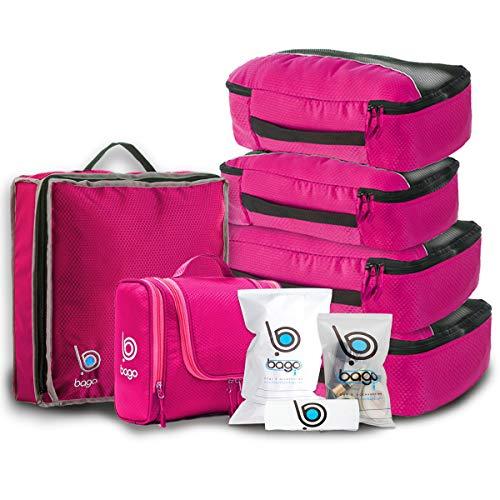 Travel Organizer Set for Luggage & Suitcase -...