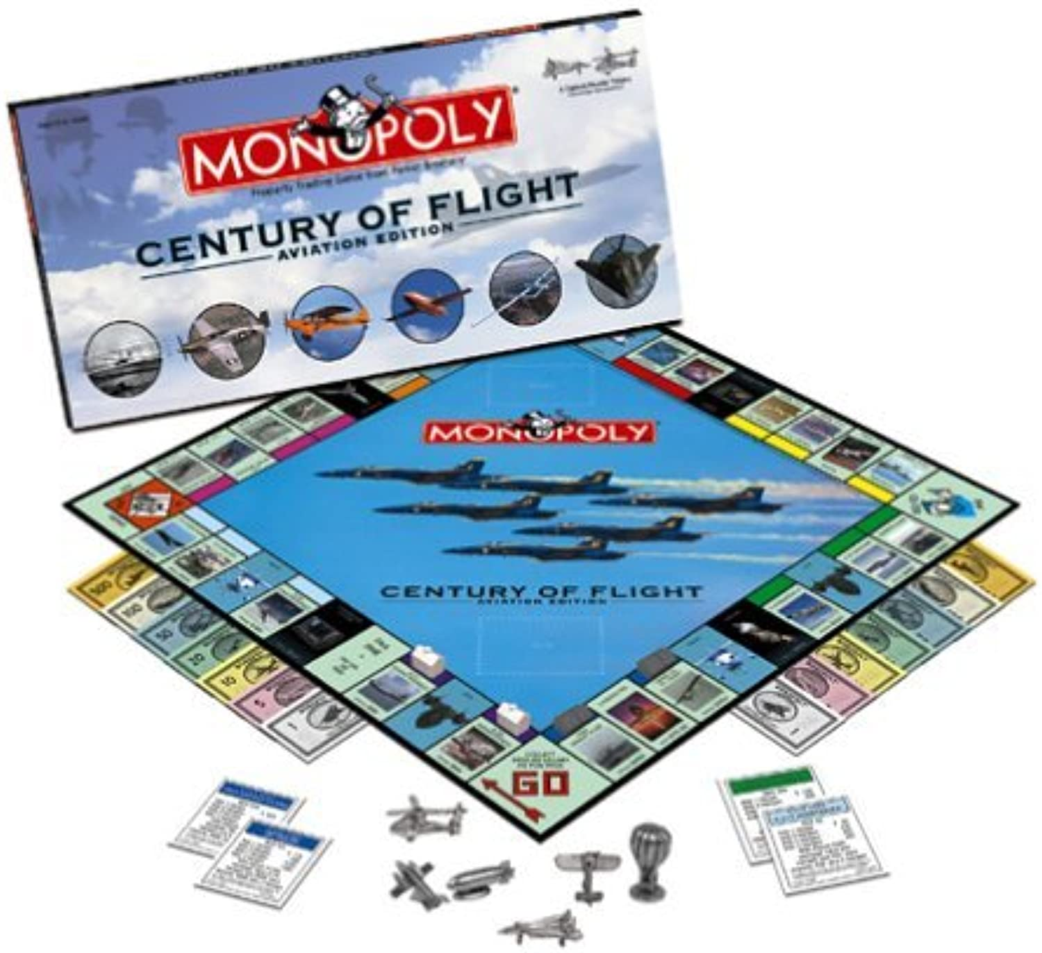 Century of Flight Aviation Monopoly by Monopoly