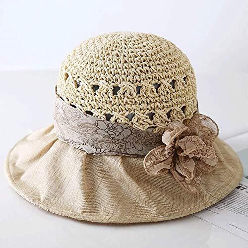 LGQBH Sol Sombrero Sombrero - Sra Verano UV Viajes de Placer Sombrero...