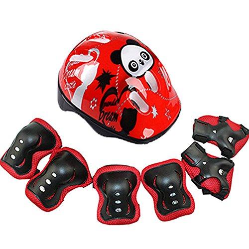 Casco de bicicleta para niños de 3 a 15 años, con equipo de protección...