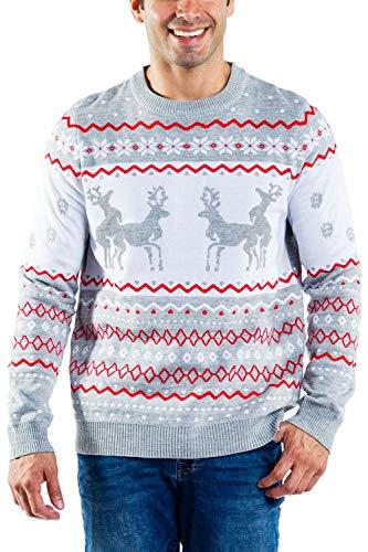 Reindeer Christmas Sweater Men's