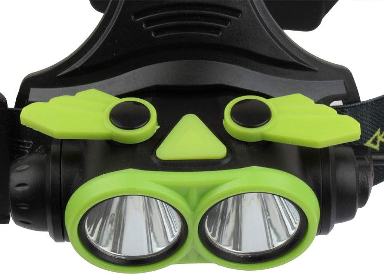 Ryshia Le Bicycle Accessories Bike Flashlight Headlamp GD89 Infrared Sensor LED Headlamp Fishing Headlight Rechargeable USB