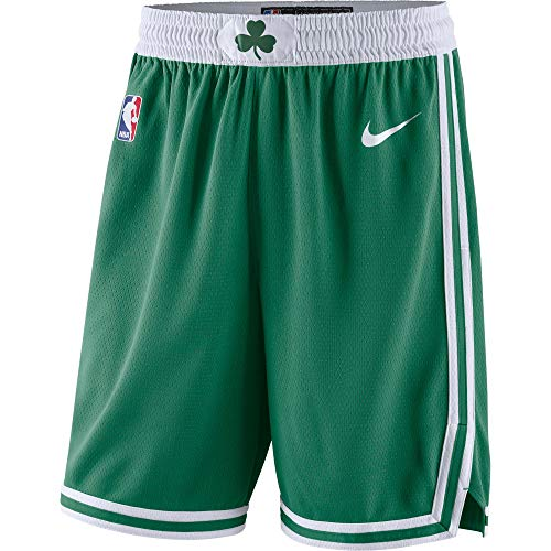 NBA Kids 4-7 Dri-Fit Performance Icon Edition Shorts (7, Boston Celtics Green Icon Edition)