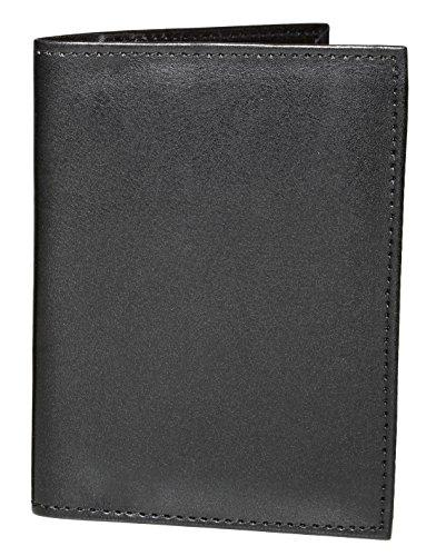 ASHLIN Passport Holder Travel Wallet – Vegan Leather RFID Holds Passport,Business & Credit Cards [RFIDP221-00-01]