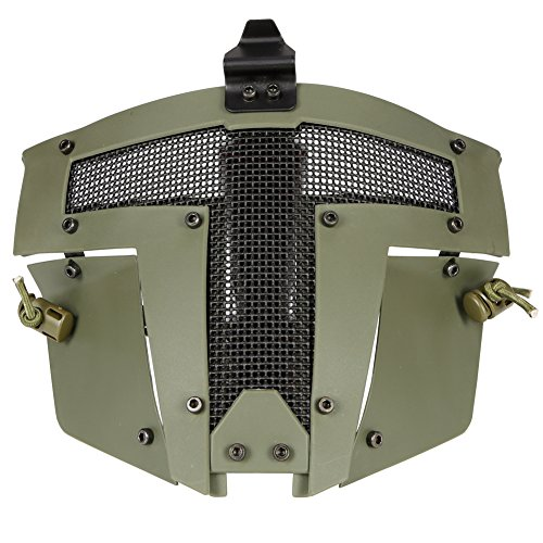 Lejie Máscara Protectora de máscara de Acero de Cara Completa táctica Accesorio...