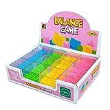 VenGo Juego de 24 piezas de laberinto de equilibrio para niños y adultos