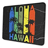 Retro Aloha Hawaii Mouse Pad Office Products Customized Accessories
