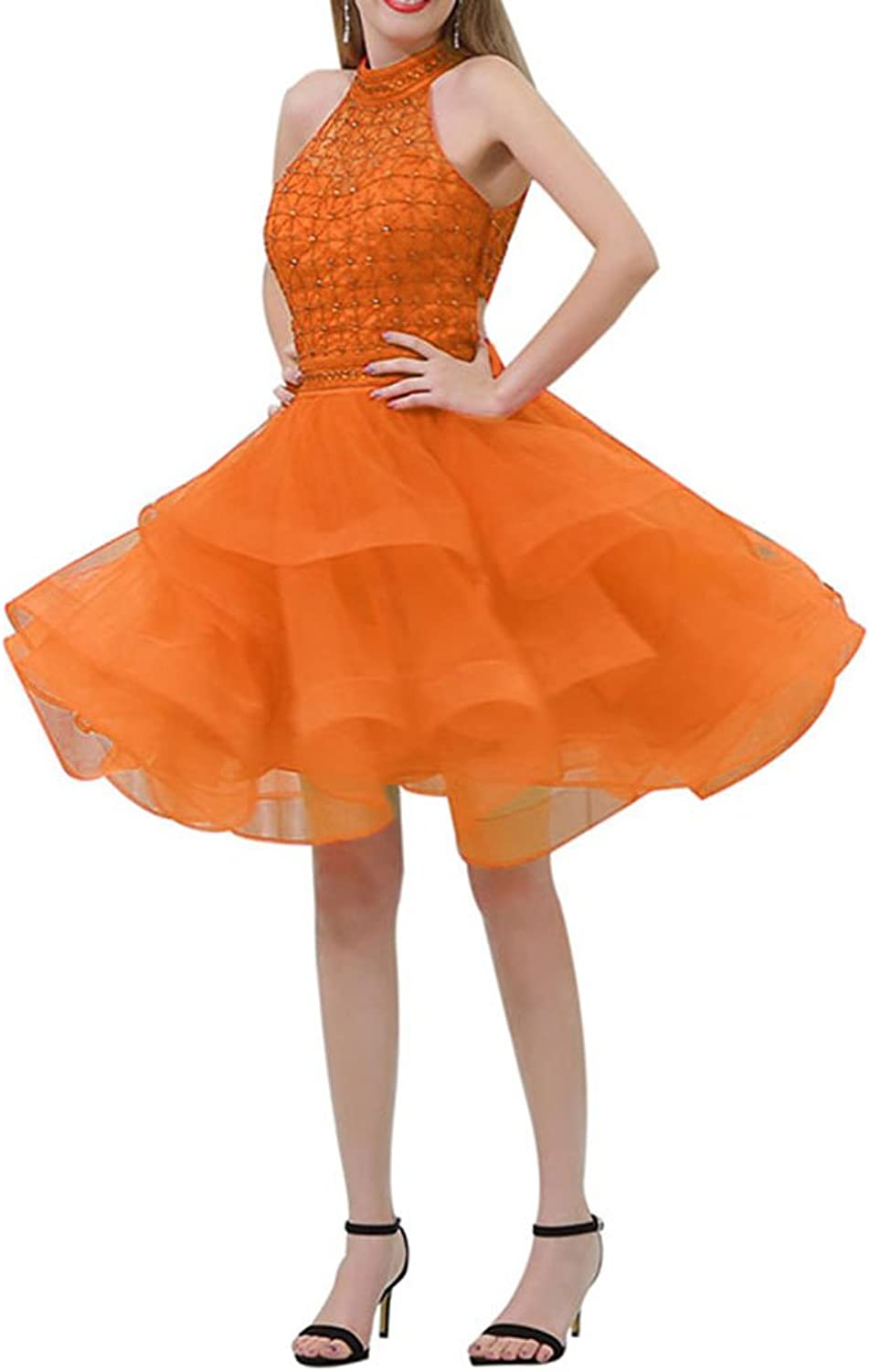Chenghouse Short Two Piece Homecoming Dresses ONeck Homecoming Graduation Dresses