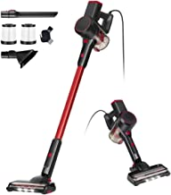 Vacuum Cleaner 4 in 1 Bagless Upright Vacuum Cleaner Lightweight Corded Handheld Stick Vacuum 500W Motor 6m Power