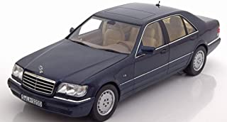 1/18 Mercedes Benz S500 DIECAST MODEL CAR (BLUE)