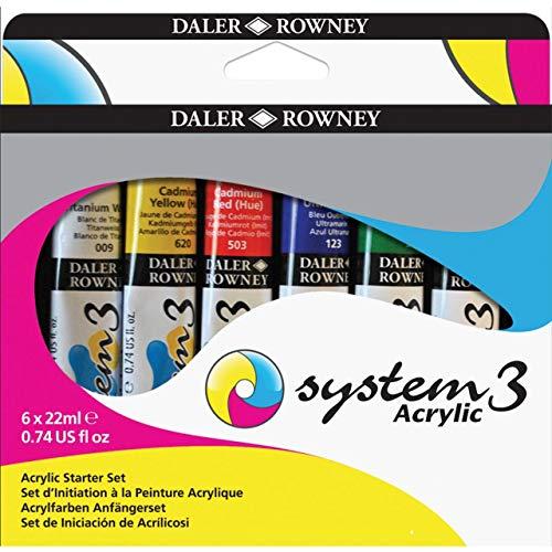 System3 Original Col.Acrílico Starter Set 6X 22Ml