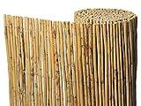 Gardeneas Canisse naturelle en bambou fin 2 x 5 m