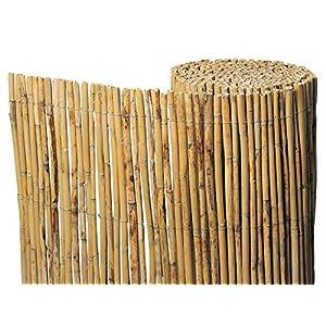 Gardeneas Cañizo Natural Bambú Fino 2×5 Metros