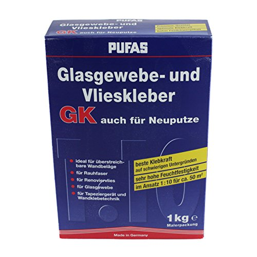 Pufas Glasgewebe- und Vlieskleber GK 1,000 KG