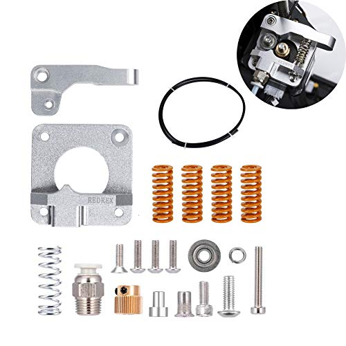 Redrex Upgrading Replacements Aluminum Bowden Extruder,Bowden Tube,Stiff All-Metal Bed Leveling Springs per stampanti 3D serie Ender 3 Ender 5 e CR10