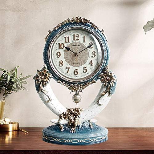 YZJC Ranking TOP2 Our shop most popular Retro Living Room Fashion Desk Wood Art Standi Clock Silent