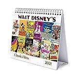 ERIK - Calendario de Escritorio 2021 Películas Clásicas, Disney, 17x20 cm