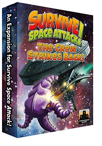 Stronghold Games STG09004 Brettspiel Survive: Space Attack The Crew Strikes Back