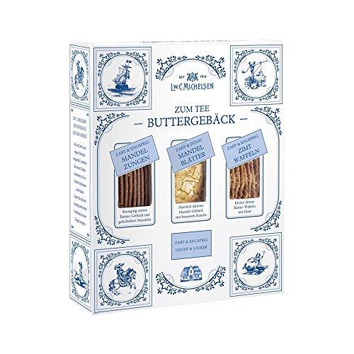 Ostfriesen Buttergebäck zum Tee - 3 Sorten je 100g