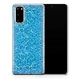Coque design pour Samsung A7 (2017) .Ocean Water Texture D003 - Design 5