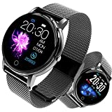 Montre Connectée Smartwatch Femmes Homme Fitness Tracker d'Activité Étanche IP68 Bracelet Connecté Moniteur de...