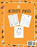 Zoom IMG-1 halloween coloring and activity book