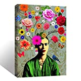 Wall Art Inner-Framed Canvas Prints for Living Room Bedroom and Home Decorations HD Print Painting for Home Decor Ready to Hang - Frida Passion
