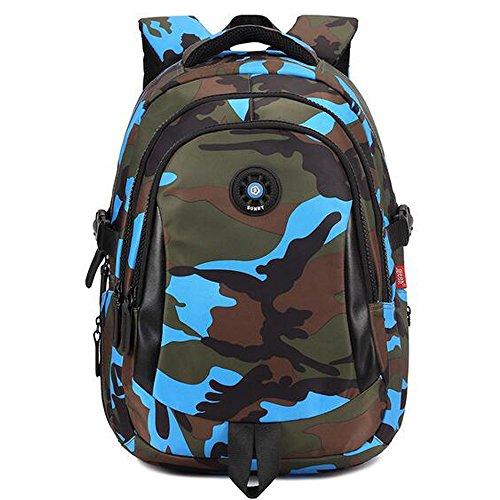 Comfysail Camouflage Gedruckt Unisex Schulrucksack Rucksäcke Freizeitrucksack für Reise Wandern Camping Schule Bergsteigen Wandern