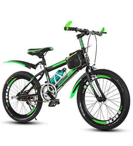 Mountainbikes 18/20/22 '' Kinderfahrräder Outdoor Singlespeed Mountainbike Spezieller Sattel Kohlenstoffstahlrahmen Rutschfester Reifen,22inch