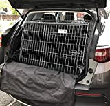 PET WORLD Suitable for Vauxhall Grandland Dog Puppy Pet sloped Car travel training carrier crate,cage,