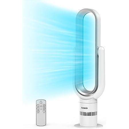 Ventilateur Colonne, Ventilateur Tour Oscillant à 90° avec Télécommande, 10 Vitesses, Minuterie de 9 Heures, Nettoyage Facile Ventilateur Silencieux pour Chambre à Coucher, Salon, Bureau