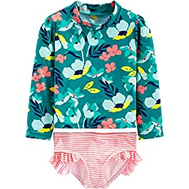 Simple Joys by Carter's Baby and Toddler Girls' Assorted Rashguard...