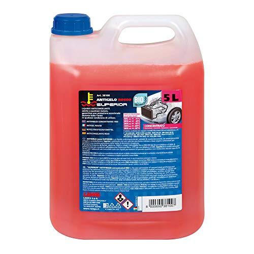 Lampa 38100 Superior-Rosso, Liquido antigelo concentrato - 5000 ml