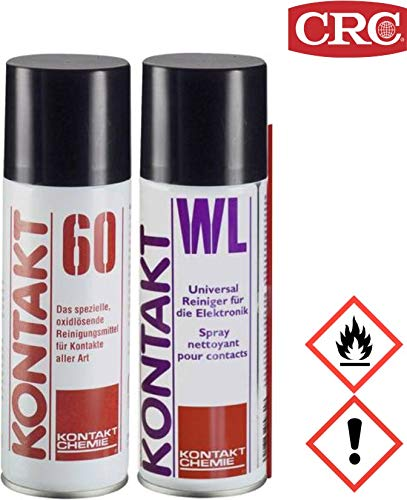 Kontakt Chemie SET bestehend aus KONTAKT 60 / KONTAKT WL Kontaktreiniger