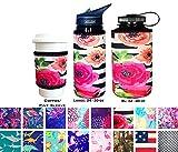 Koverz XL Neoprene 32-40 oz Water Bottle Insulator Cooler Coolie - Tres Chic