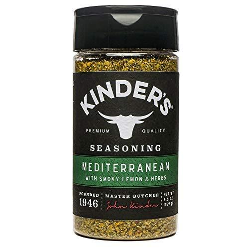 Kinder's, Mediterranean Seasoning with Smoky Lemon and Herbs, 5.6oz