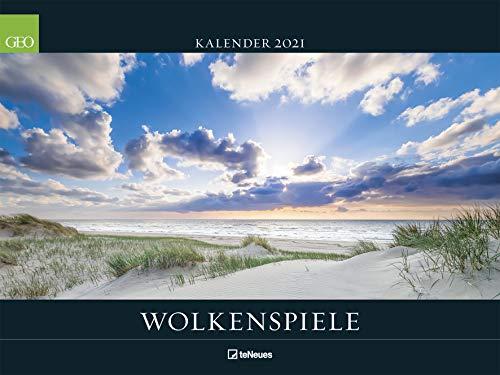 Wolkenspiele - Kalender 2021 - teNeues-Verlag - GEO - Wandkalender mit faszinierenden Himmelsschauspielen - 63,8 cm x 47,8 cm