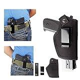 iwb funda pistola táctica pistola Glock 17 19 23 26 27 43 m & P Shield 9 mm Clip para el cinturón BERETTA 92 Universal 1911 compacto