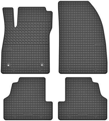 Gummimatten Gummi Fußmatten Satz für Opel Mokka (2012-2016) / Opel Mokka X (ab 2016) / Chevrolet Trax (ab 2013) - Passgenau