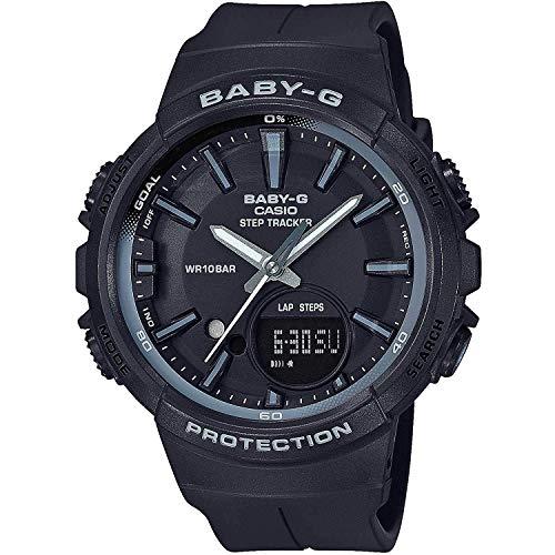 BABY-G Damen Analog-Digital Quarz Uhr mit Harz Armband BGS-100SC-1AER