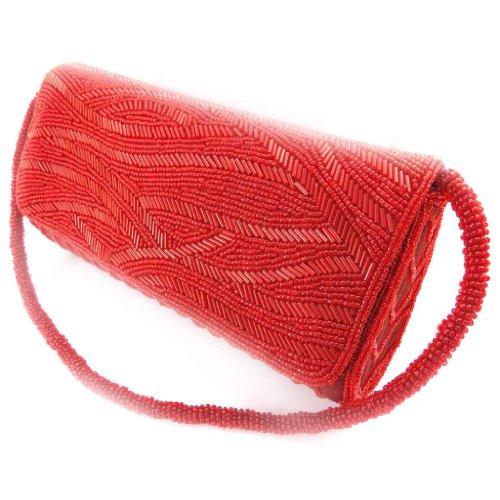 Les Trésors De Lily [J9501] - Pouch bag 'Nuit Magique' rot.