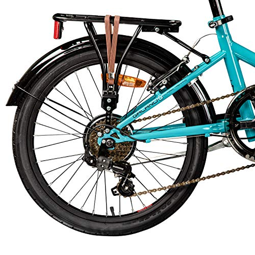 Galano Klapprad 20 Zoll Fahrrad Faltrad Metropolis Campingrad Citybike - 5