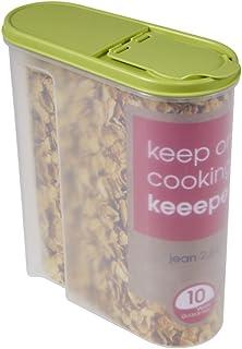 Schüttdose für Trockenvorräte, Aufklappbarer Deckel, BPA-freier Kunststoff, 2,6 l,..