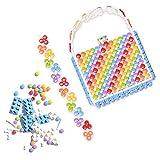 GoldieBlox Rainbow Purse, Perfect for Kids 8+, Flexible Building Kit, Unique Reusable Bag, DIY STEM Activity