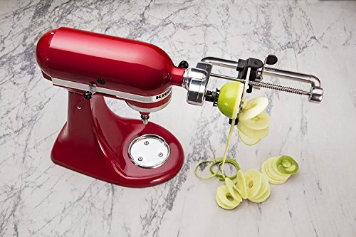 Product Image 3: KitchenAid Spiralizer Plus Attachment with Peel, Core and Slice, Silver