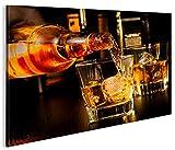 islandburner Bild Bilder auf Leinwand Bar Drinks Bartender