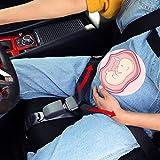 Crenze cinturón de seguridad para maternidad, cinturón de seguridad para embarazadas, protección para el vientre, seguridad y comodidad para bebés no nacidos