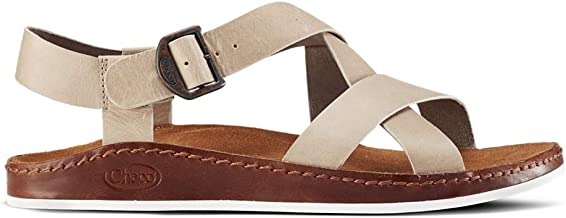 Chaco Women's Wayfarer Sandals, Beige, 10 M